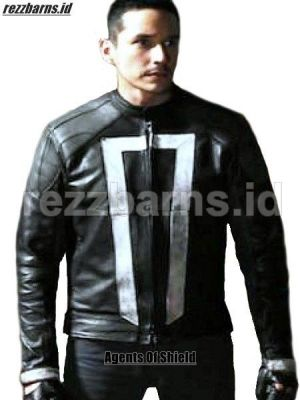 Jaket kulit Agents Of Shield